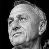 Foto do ex-treinador de Romário no Barcelona   Johan Cruyff